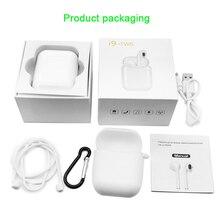 IFANS originais i9 Ar Vagens vagens TWS mini Bluetooth estéreo baixo fones de ouvido sem fio Para A apple xiaomi meizu airdots pop i10 tws
