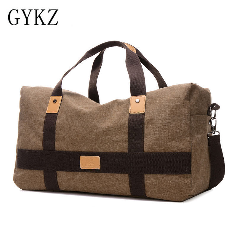 GYKZ Waterproof Canvas Outdoor Men Crossbody Bag Shoulder Bag Professional Portable Male Sports Gym Bag Canvas Fitness Bag HY020