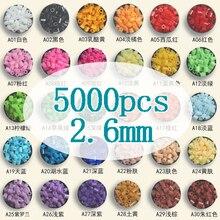 Perles, Hama de 5000mm, pour enfants, bricolage, jouets éducatifs dintelligence, pièces/sac, 2.6