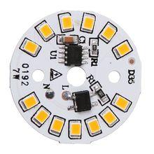 Светодиодный светильник, панель SMD, чип для лампы, вход Smart IC Bean, линейный привод, светильник, источник, Декор для дома, гостиной