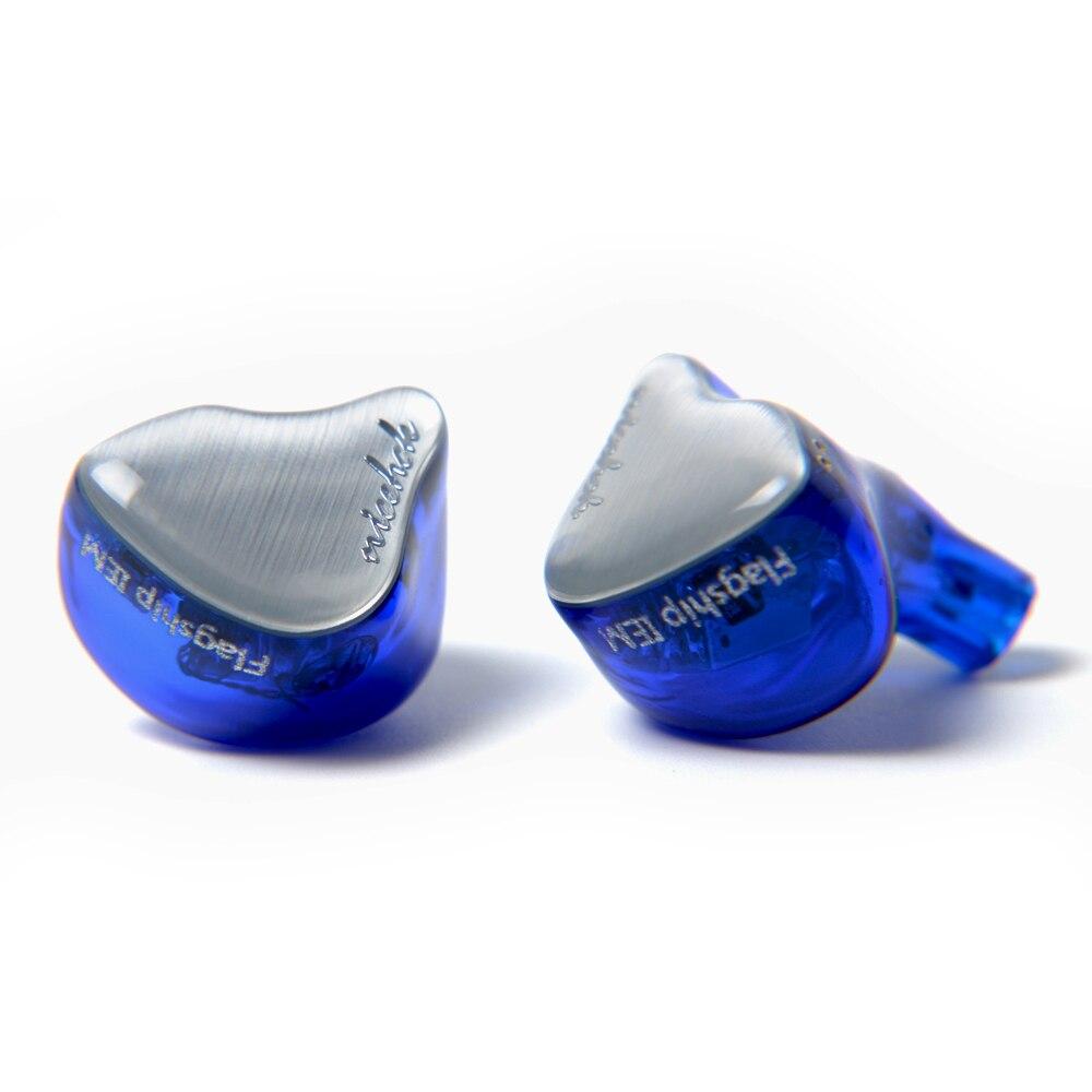 NICEHCK NK10 10BA Unità di Azionamento In Trasduttore Auricolare Dell'orecchio 10 Balanced Armature HIFI Auricolare Monitoring Con Staccabile Staccare 2PIN Cavo