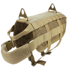 Hunting vest of Army Tactical Dog Vests Training Molle Vest Outdoor Military Clothes 4 color be choosed