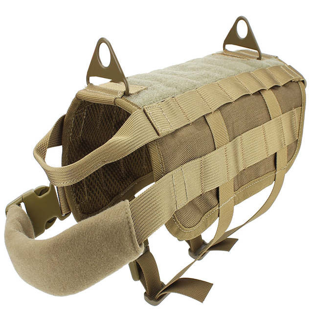 445b6fcebc4e Military Tactical US Army Law Enforcement K9 Training Harness Hunting Dog  Vest Airsoftsports Paintball Gear 9