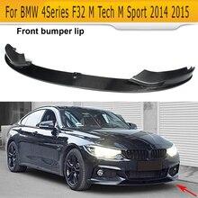 4 серии, углеродное волокно, автомобильный передний бампер, спойлер для BMW F32 435i M, спортивный бампер,-, конвертируемый блеск, Матовый ABS