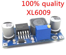 free shipping XL6009 DC-DC Booster module supply module output is adjustable Super LM2577 step-up module