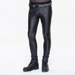 Image 1 - שטן אופנה גברים של סקיני פאנק פסים מכנסיים PT045