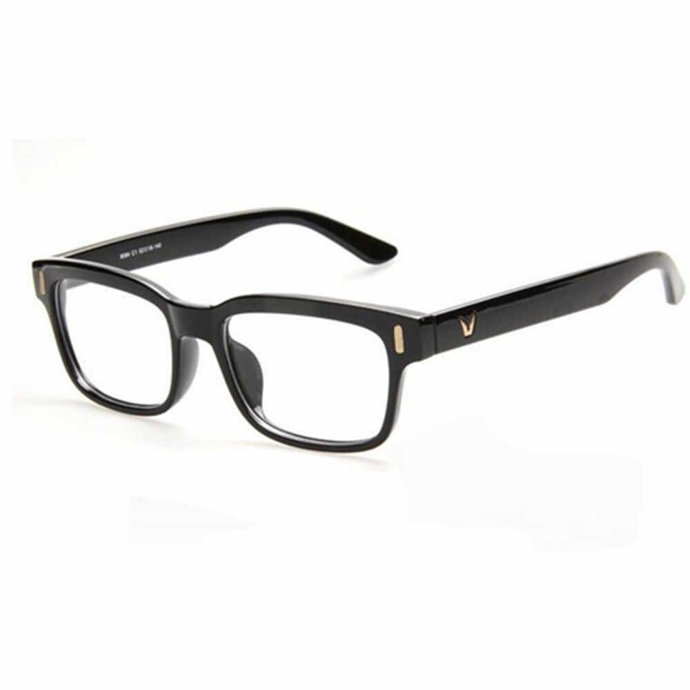 0b37d95a4f2 High-grade V-Shaped Box Eyeglasses Frame Brand For Women Fashion Optical  eye glasses