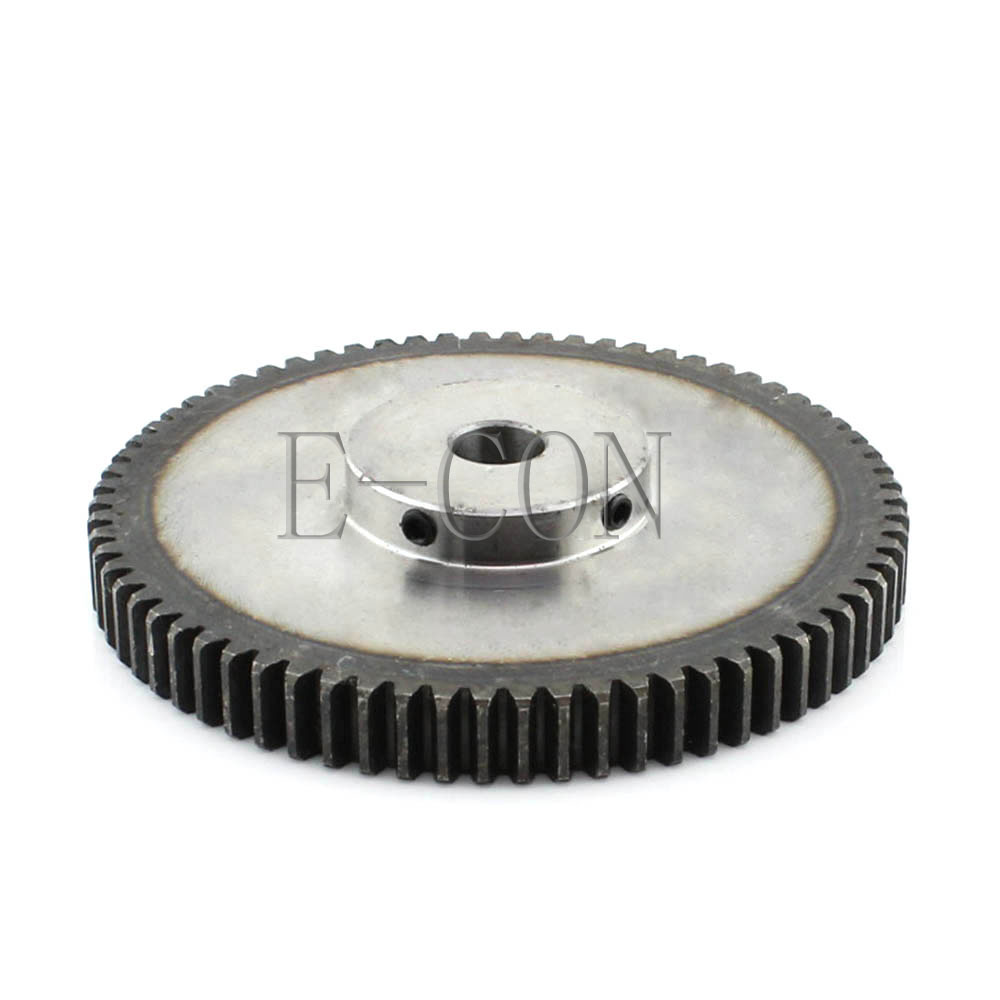 1pcs 1.5M65T 10mm/12mm Bore Hole 65 Teeth 12mm Width Module 1.5 Motor Steel Gear Wheel Top Screw1pcs 1.5M65T 10mm/12mm Bore Hole 65 Teeth 12mm Width Module 1.5 Motor Steel Gear Wheel Top Screw