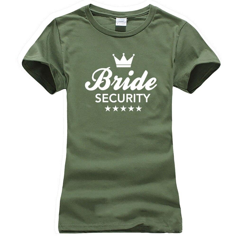 Goede Only4U Mode T shirts Women'S Korte Mouw Crew Vrijgezellenfeest KN-56