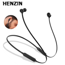Henzin Headphone Magnetic Neckband Bluetooth Hifi Stereo Earpod Waterproof Sport