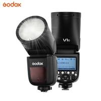 Godox V1 C Пионерские Камера вспышки Speedlite, 2,4 г X Беспроводной HSS GN60 вспышка Speedlight для 6D 7D 50D 60D 500D 1000D 1DX 5D Mark