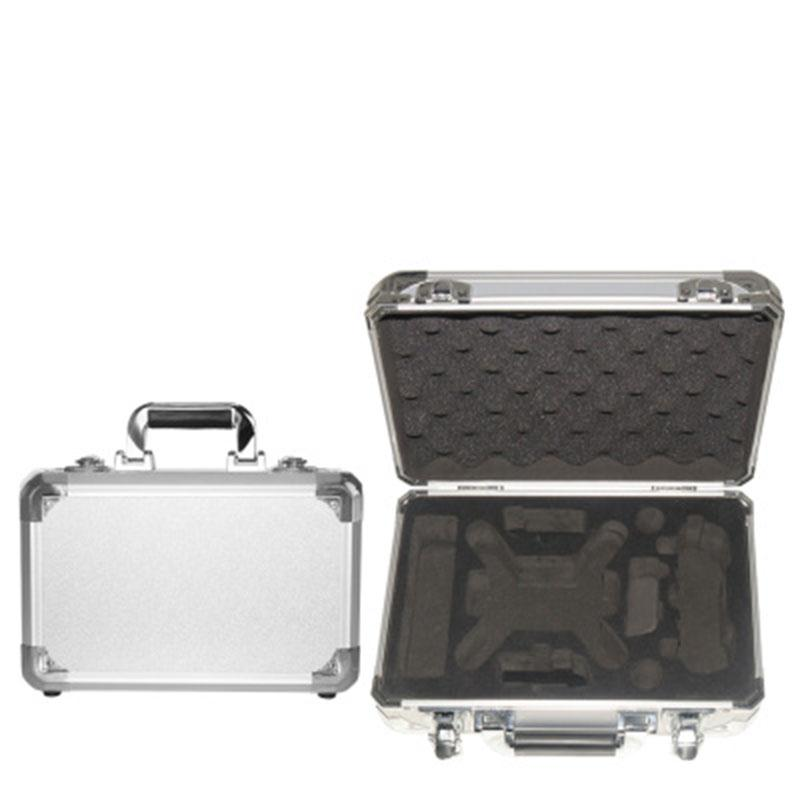 2017 hot Storage Carrying Protective Box Case Suitcase For DJI Phantom Spark Pro Aluminum Alloy EVA Silver/Black ноутбук msi gs43vr 7re 094ru phantom pro 9s7 14a332 094