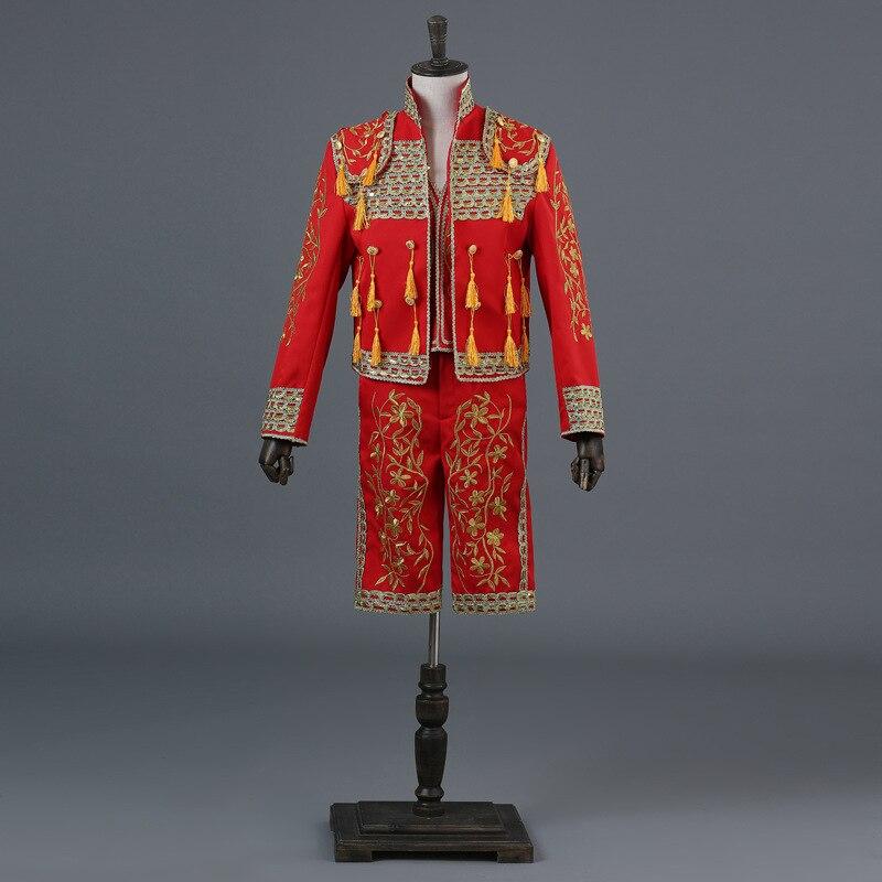 Matador Spagnolo Bull FIGHTER MEN/'S Costume adulto Costume National uniforme