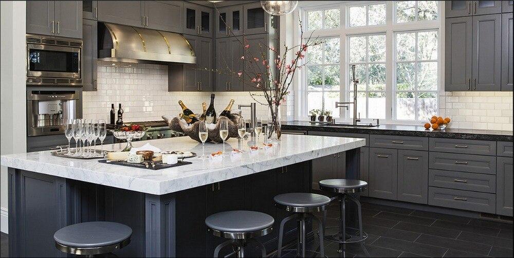 Online kopen wholesale keuken aanrecht hout uit china keuken aanrecht hout groothandel - Moderne keukenkast ...