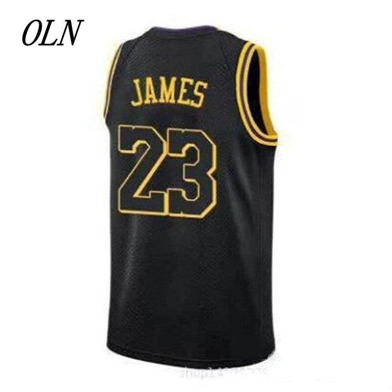 2018 günstige Neue Basketball Shirt 23 Jerseys Lebron James Jersey Für Herren Kinder Genäht Gelb Lila Weiß Schwarz