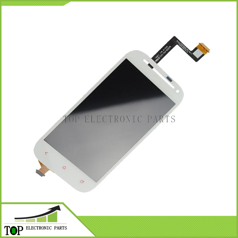 For HTC One SV LCD Display & Digitizer Touch Panel & Front Camera Hole for HTC Desire P T326h white