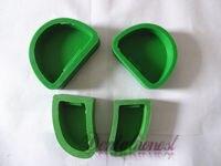 4pcs 1Set Dental Lab Plaster Model Base Molds Sale
