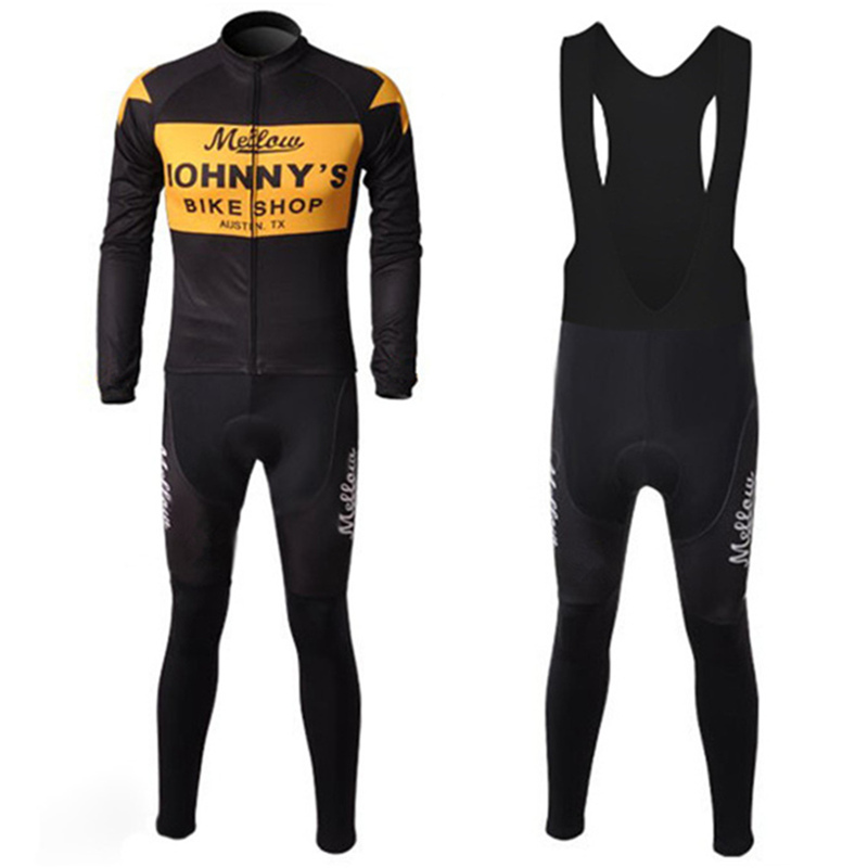 ФОТО Pro Team Cycling Jersey Winter Thermal Fleece Cycling Clothing Bicycle Sports Clothes Ropa Maillot Ciclismo invierno #DT-007