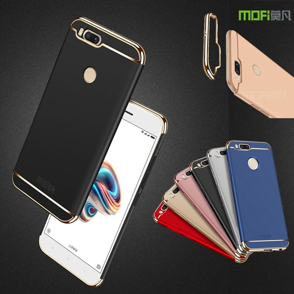 Mofi Case For Xiaomi A1 Mi A1 (5.5) Mofi 3 in 1 Full Protection Hard PC Back Cover Case For Xiaomi 5X Mi 5X (5.5) Hard Shell
