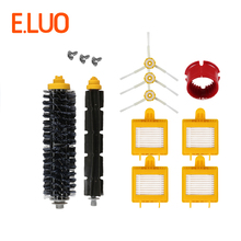 Robot Vacuum Cleaner Part Kit 4pcs Filter+3pcs Side Brush+1 Pack Bristle Brush and Flexible Beater Brush for 700 Series Cleaner цены