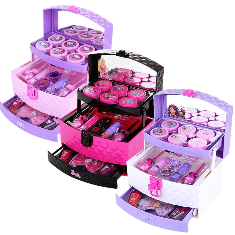 Disney Childrens Makeup Toys Cosmetics Princess Makeup Box Set Safe Non-toxic Girl Toy GiftDisney Childrens Makeup Toys Cosmetics Princess Makeup Box Set Safe Non-toxic Girl Toy Gift