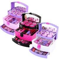 Disney Children's Makeup Toys Cosmetics Princess Makeup Box Set Safe Non toxic Girl Toy Gift