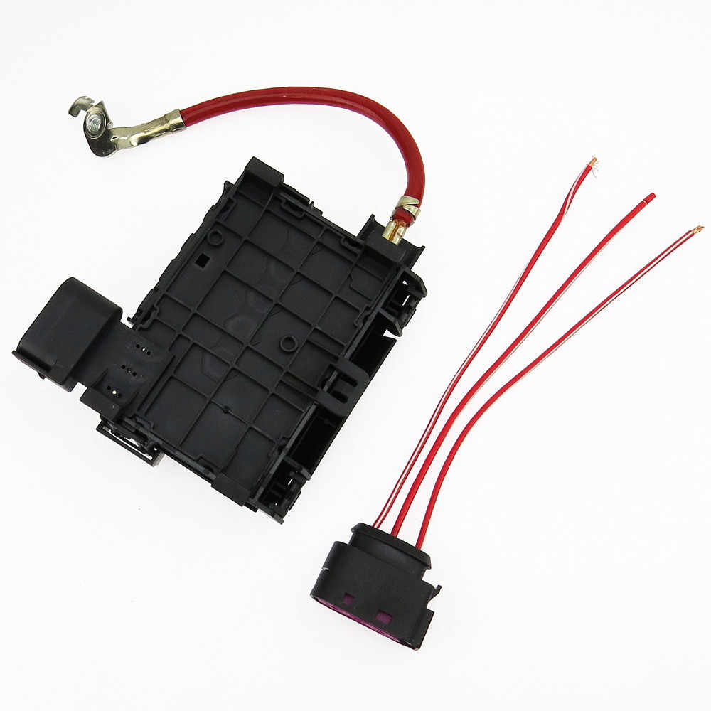 scjyrxs new battery fuse box connector cable plug for beetle bora golf mk4 octavia seat [ 1000 x 1000 Pixel ]
