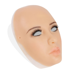 Image 5 - MUSIC POET silicone realistic female masks Halloween masks masquerade cosplay drag queen crossdresser male to female