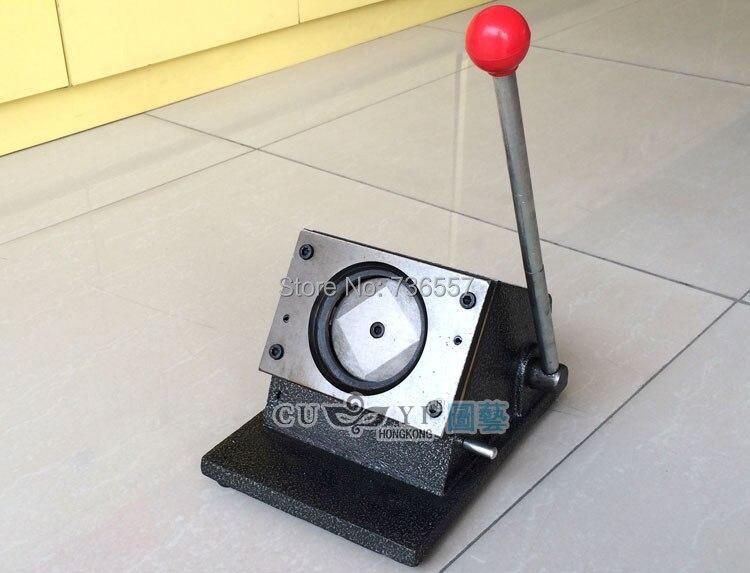 """75 мм сверхмощный Руководство """" multi Простыни Детские стенд Бумага Графический Удар Die Cutter для Pro Button Maker"""