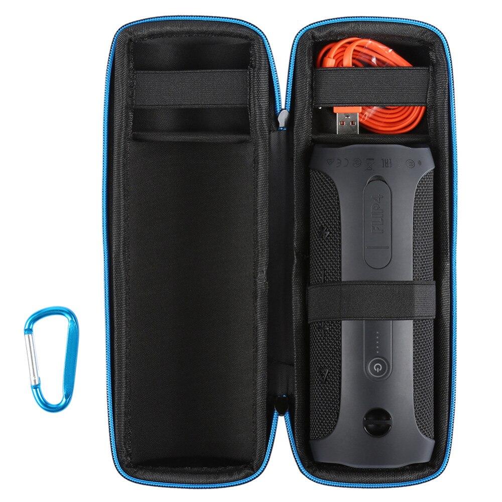 JBL FLIP 4 Red Kit Bluetooth Speaker /& Portable Hardshell Travel Case