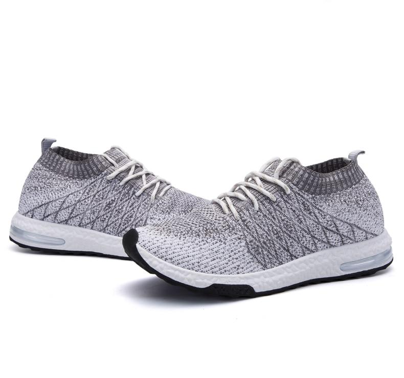 HTB1GNbSPmzqK1RjSZFHq6z3CpXa0 Men Shoes Beathable Air Mesh Men Casual Shoes Slip on Fall Sock Shoes Men Sneakers Tenis Masculino Adulto Plus Size 46