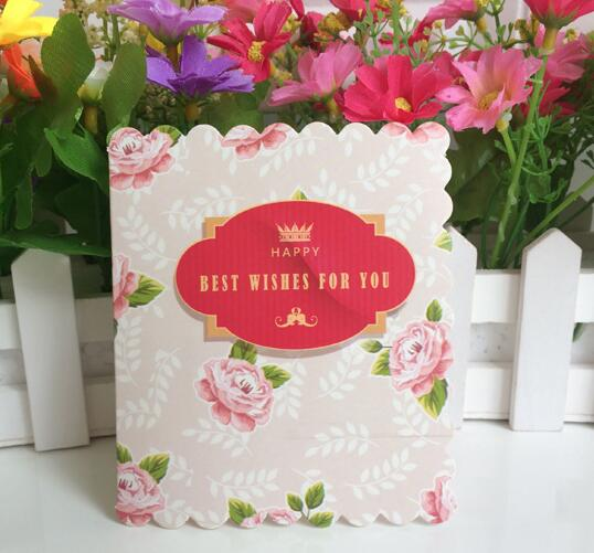10pcsset 1079cm small floral printed greeting cards wedding 10pcsset 1079cm small floral printed greeting cards wedding invitation cards florist paper m4hsunfo