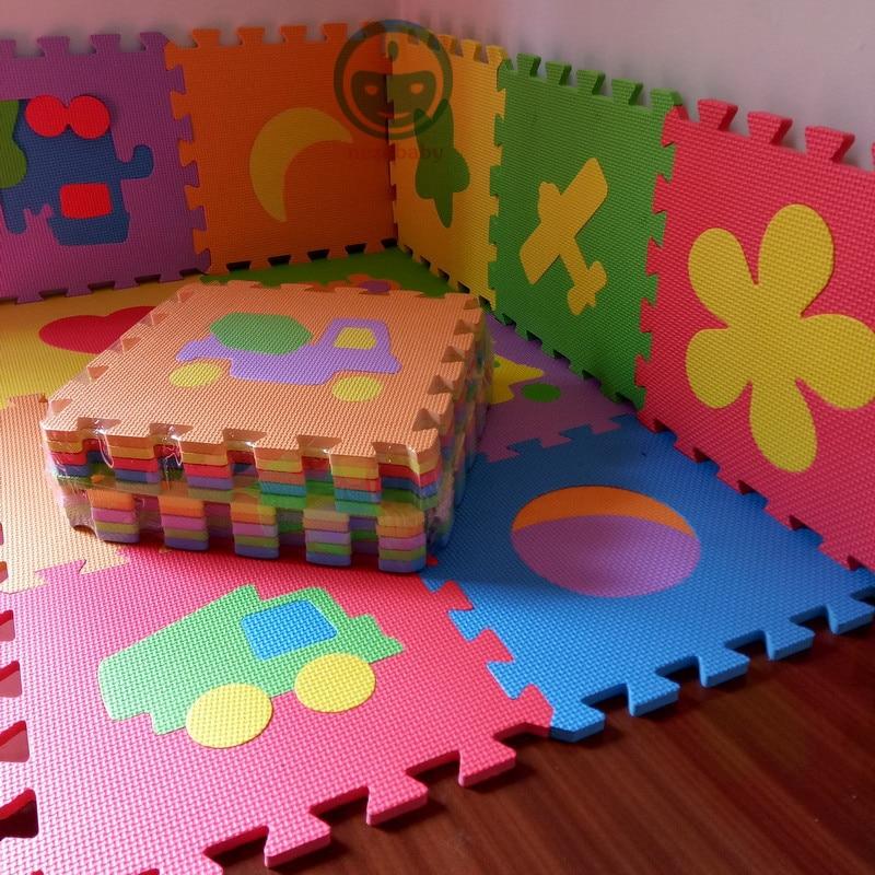HTB1GNbcbCCWBuNjy0Fhq6z6EVXav 10PCS Pack Baby Puzzle Mat Baby Play Mat Floor Puzzle Mat EVA Children Foam Carpet Mosaic Floor Play Mats 4 Style PX10