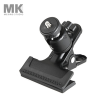 Meking Multi-function Clamp ballhead multi Clip with Ball Head for shooting Camera accessory Flashes Tripod Attachment