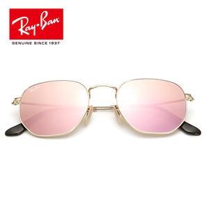0b0b6f258236b RB3548-001 Aviator Hexagonal flat lenes Sunglasses RayBan Z2 lassic  prescription