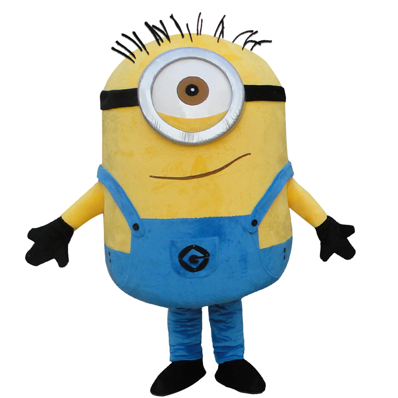Free Shipping 22 Styles Minion Mascot Costume For Adults mascot costume