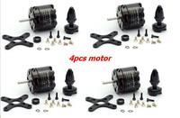 4pcs SunnySky X2814 900KV 1000KV 1100KV 1250KV 1450KV Outrunner External Rotor Brushless Motor