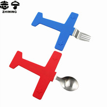 Airplane  fork set 2 Pieces/set creative children Steak fork Dinnerware Sets free shipping Q-311