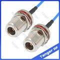 Хит продаж женщина Н к водонепроницаемый разъем с RG405 RG086 коаксиальный Соединительный кабель синий кабель 8 дюймов 8