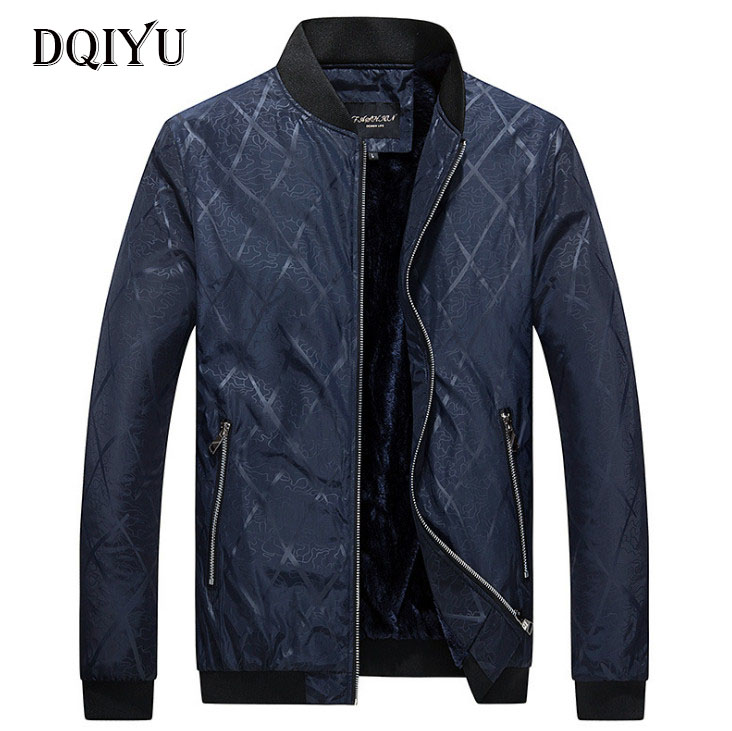 New Spring Autumn Jacket Coats Men Business Casual Thicken Slim Fit Clothing Men Outerwear Casaco Masculino M-4XL