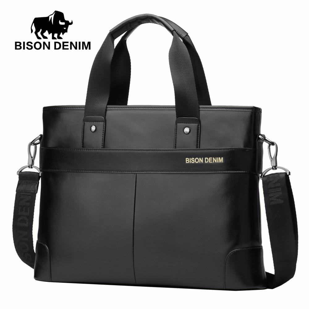 denim bisonte 100% couro do Number OF Alças/straps : Único