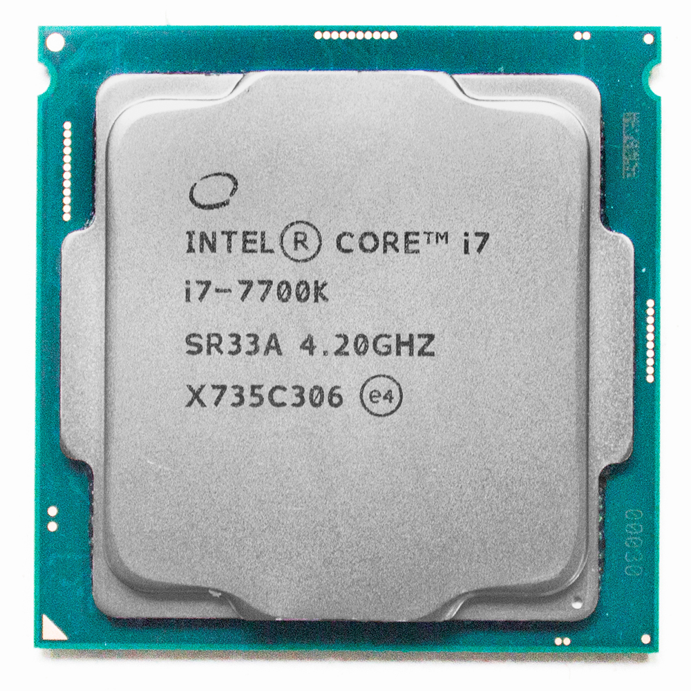 Intel 7th Gen intel core Desktop-Prozessor intel core i7-7700K 7700K Quad-core 8 threads 4,2G 91W LGA 1151