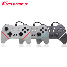 Wired USB Changeable Color Strips Pro Controller Gamepad for S-w-i-t-c-h Console and PC w i t c h четыре дракона