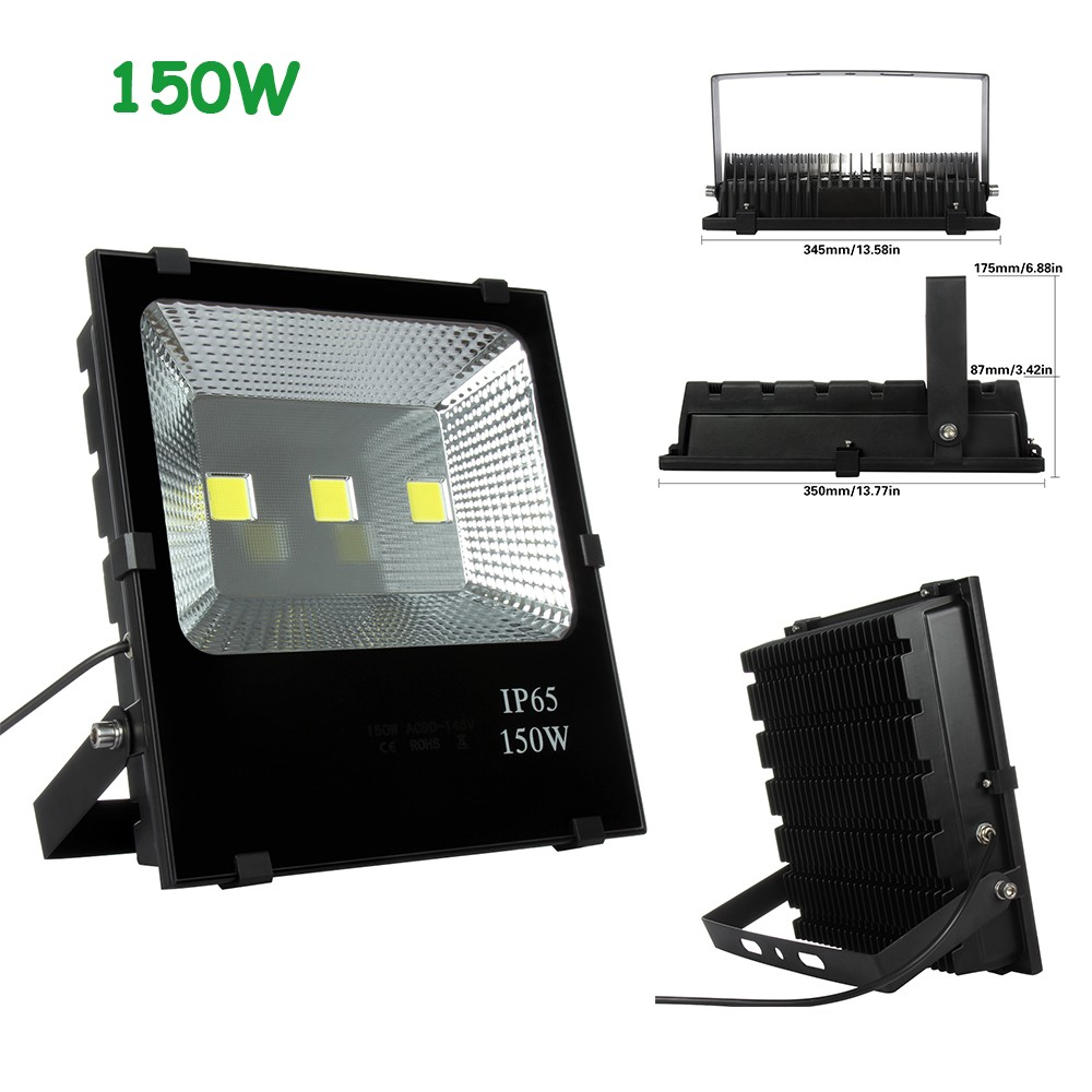 Projecteur Exterieur Philips 400w Us 70 1pcs 50w 100w 150w 200w Led Flood Light Waterproof Ip65 Spotlight Outdoor Led Reflector Floodlight For Street House Road Lamp In Floodlights