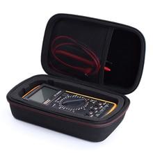 Newest Portable EVA PU Hard Travel Protective Carry Storage Bag Cover Case For Fluke F117C/ F17B+/ F115C Digital Multimeter