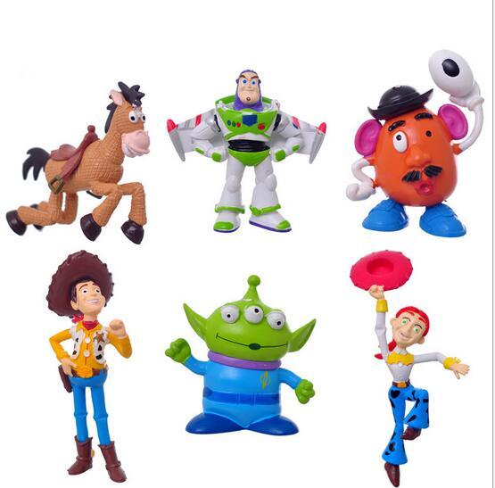 100set Toy Story 3 Sheriff Woody Pride Jessie Mr Potato Head