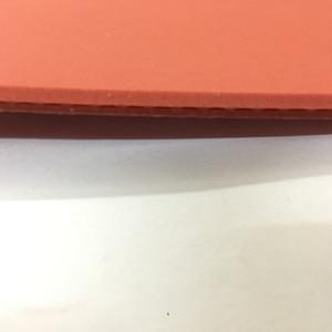 Image 4 - الجملة + بيع عالية الجودة الأحمر الإسفنج تنس طاولة شفرة مطاطية تنس طاولة تنس طاولة تنس طاولة مضرب بينغ بونغ المطاط