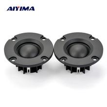 2-дюймовые 4/6/8 Ом 15 Вт купольные высокочастотные динамики AIYIMA с шелковой пленкой, аудио громкоговорители, неодимовые высокочастотные мини-д...