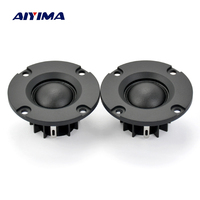 2Pcs Tweeters Audio Loudspeakers Tweeter Treble Hifi Silk Film Tweeter 20 Core Portable Mini Speaker 6
