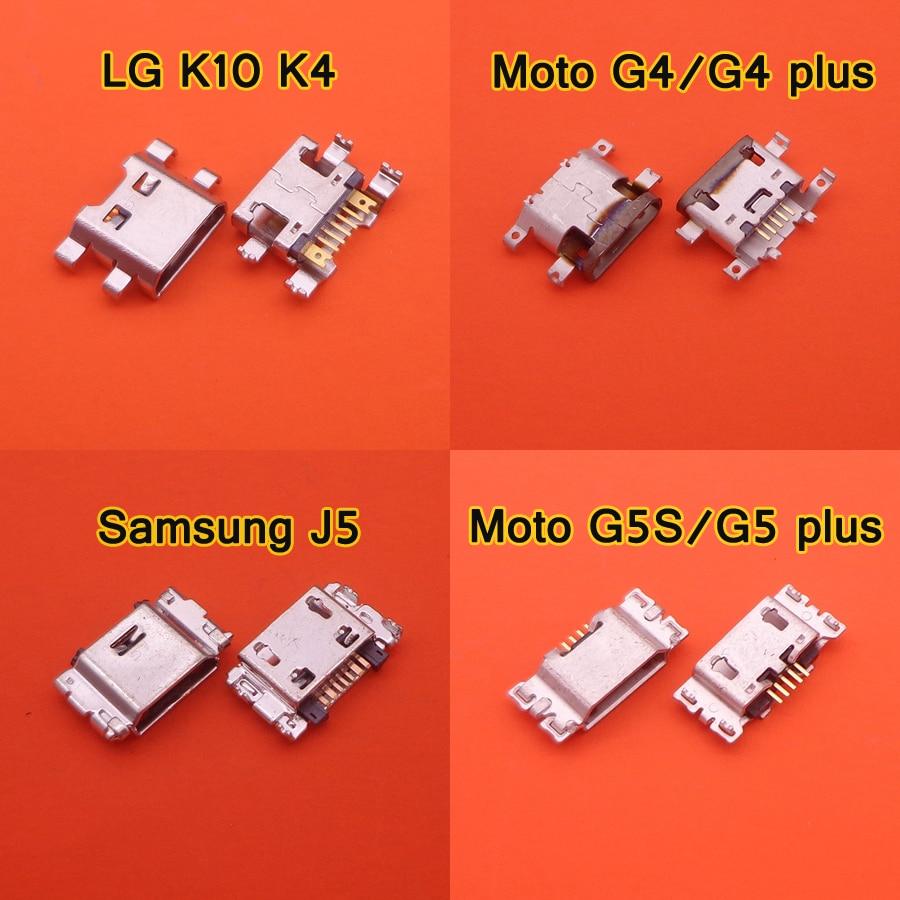 Connector-Charging-Port Moto G4 Plus Samsung Lg K10 Micro-Usb for G5 Jack-Socket J300
